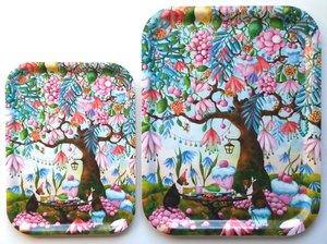 CupCake Garden - tray
