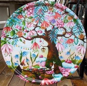 CupCake Garden round tray 65 cm