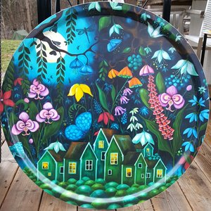 Dreamland  Round tray 65 cm