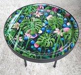 Round Tray 49 cm . The Night Garden