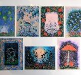 7 postcard
